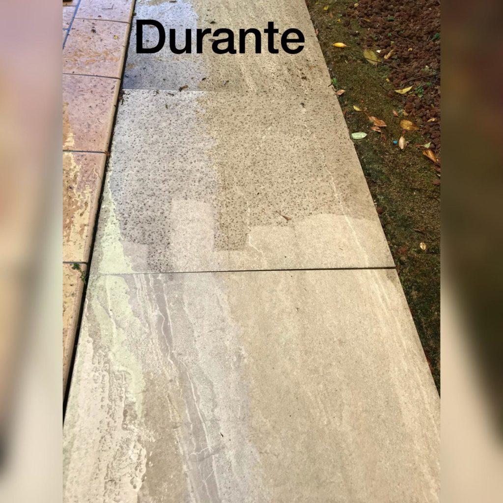 pulire i pavimenti da esterno in gres