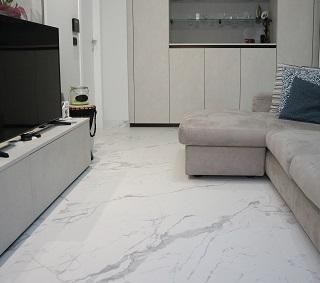 L'appartamento di A&F: ristrutturazione zona giorno e bagno dallo stile moderno e minimal
