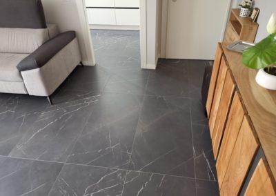 pavimento gres effetto marmo grafite