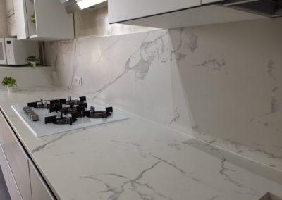 Top cucina gres effetto marmo
