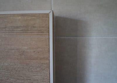 dettaglio profilo per rivestimento effetto legno