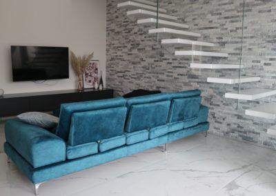 cave pietrasanta lucido pavimento soggiorno