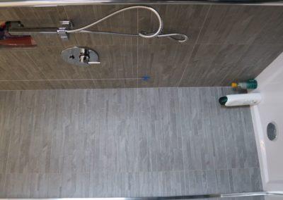 rivestimento doccia effetto muretto